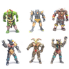 Action Figure / RPG - Kit 6 Gladiadores Medievais - Orc Warrior Beast Angle