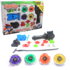 Kit com 4 Peões Beyblades Raros Metal Burst - Top Set Rapidity