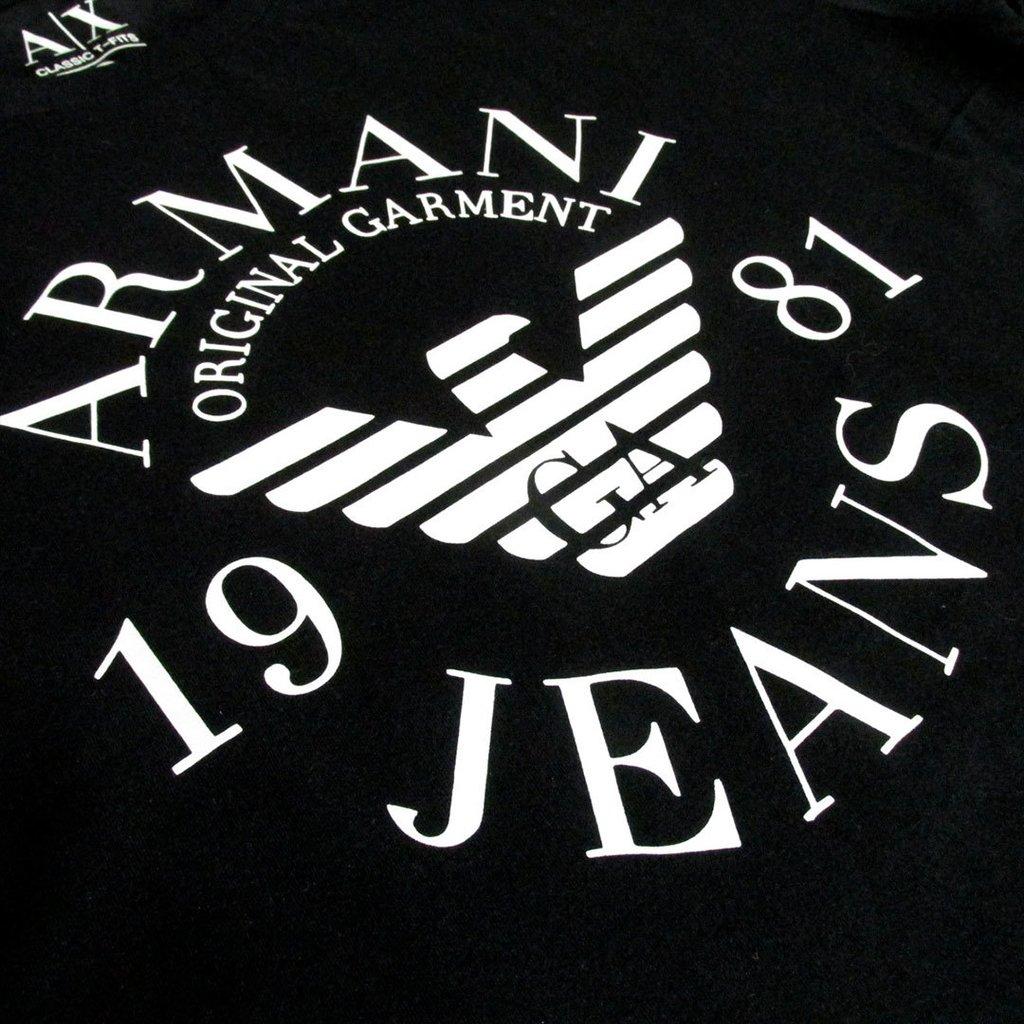 8059b50b1 Camiseta armani jeans 1981 Primeira Linha Peruana Masculina