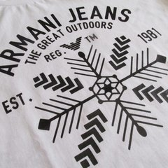 Camiseta Armani Exchange Great Outdoors Masculina - comprar online