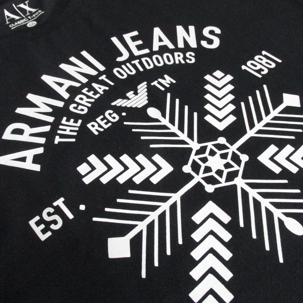9c3c22311 Camiseta Armani Exchange Primeira Linha Peruana Great Outdoors Masculina