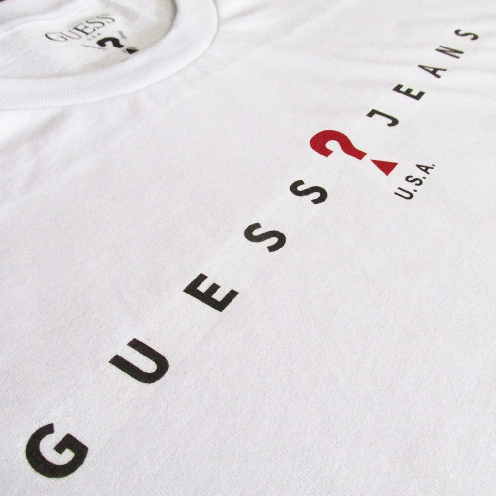 92ecdd518a1bd Camiseta Guess jeans Primeira Linha Peruana USA Masculina