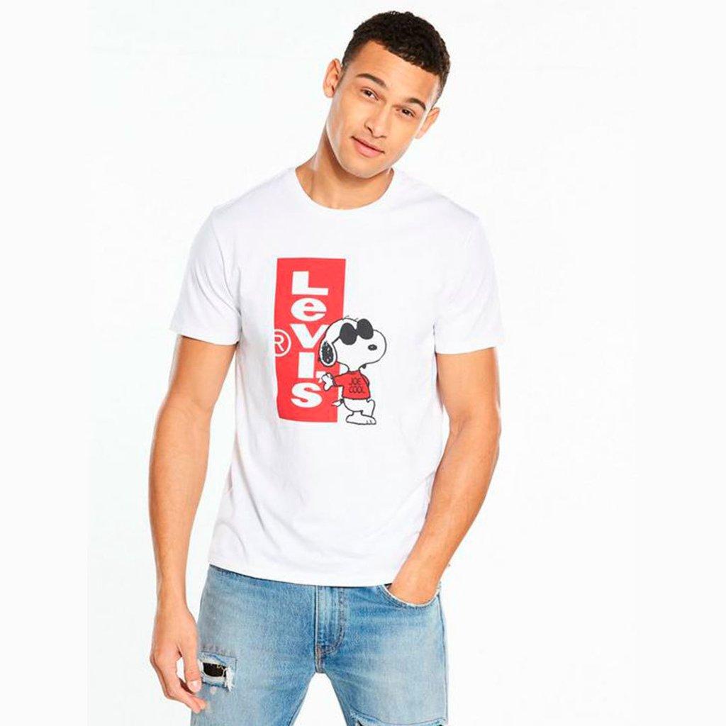 Camiseta Levis Snoopy Primeira Linha Peruana Swag Masculina. 0% OFF 034a86e9451