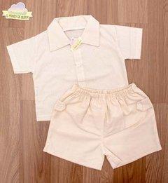 Camisa E Bermuda Para Bebê