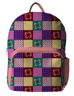 Mochila FUN - Patch Pink