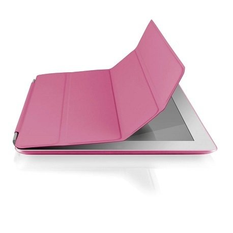 Case e Suporte Multilaser Double Smart Cover Multilaser 7 Pol - Rosa - BO218