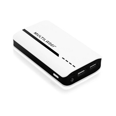 Carregador Portátil Power Bank 4500 Mah Multilaser - CB077