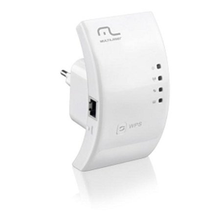 Roteador Repetidor Wireless Multilaser 300Mbps WPS - RE051