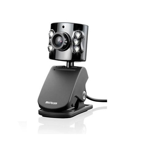 Webcam Multilaser 5Mp com Microfone Embutido - WC040