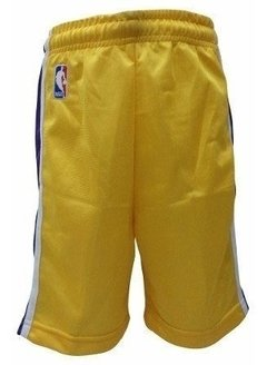Short Nba Lakers Oficial Ni?o - Bofn