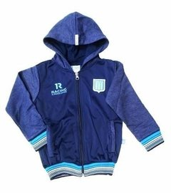 Campera Racing Con Recortes Adulto - 410