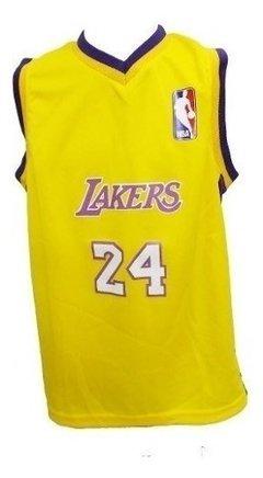 Camiseta Nba Economica De Basquet Ni?o Lakers - Mesn