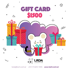 GIFT CARD X 1500