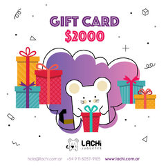 GIFT CARD X 2000