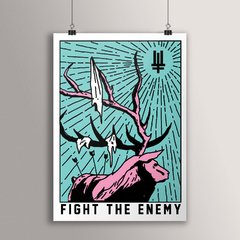 POSTER FIGHT THE ENEMY