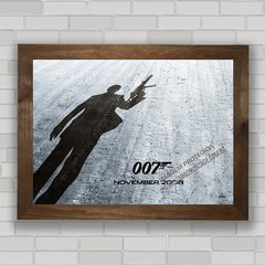 QUADRO DECORATIVO FILME 007 na internet