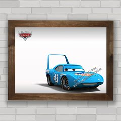 QUADRO INFANTIL FILME CARS KING 43 na internet