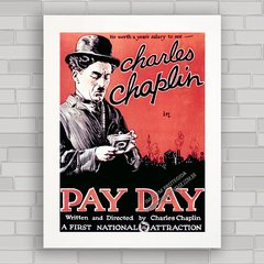 QUADRO FILME PAY DAY CHARLIE CHAPLIN na internet