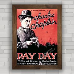 QUADRO FILME PAY DAY CHARLIE CHAPLIN