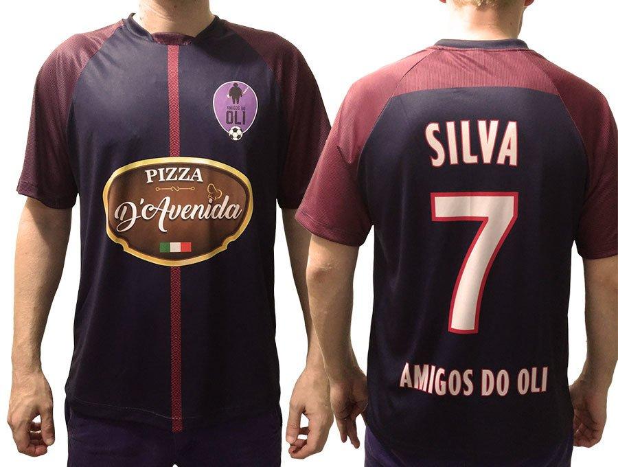 92a56e75cd Camisa personalizada malha poliéster - 01 und