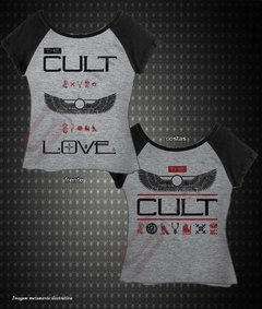Baby Look Raglan - The Cult