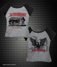 Baby Look Raglan - Alter Bridge (Fortress) na internet