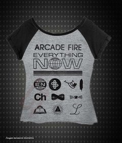 baby look Raglan - Arcede Fire (Everything Now) - comprar online