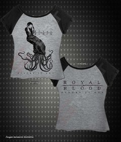 Baby Look Raglan - Royal Blood (Figure It Out) - comprar online