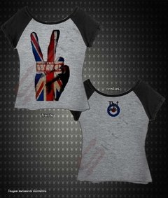 Baby Look Raglan - The Who - comprar online