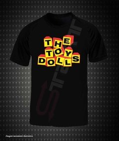 Camiseta Preta - The Toy Dolls