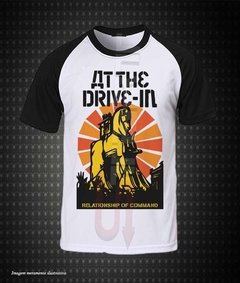 Camiseta Raglan - At the Drive-In (Relationship of Command)