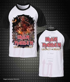 Camiseta raglan - Iron Maiden