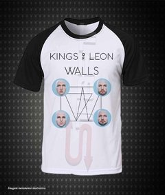 Camiseta raglan - Kings of Leon (Walls)