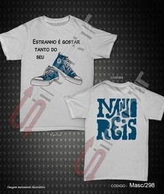 Camiseta - Nando Reis (All start Azul) - comprar online