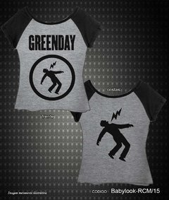Baby Look Raglan - Green Day