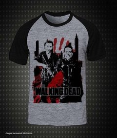 The Walking Dead - (Camiseta Raglan)