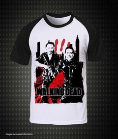 The Walking Dead - (Camiseta Raglan) - comprar online