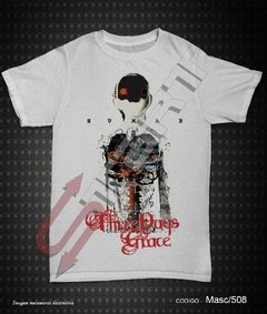 Camiseta, Regata ou Baby Look - Three Days Grace (Human)