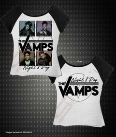 Baby look Raglan - The Vamps (Night & Day)