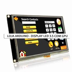 Display Nextion Ihm Led Touch 3.5 Arduino Pic Clp (4009) - LOJA ARDUINO