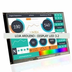 Display Nextion Ihm Led Touch 3.2 Arduino Pic Clp (4004) - LOJA ARDUINO