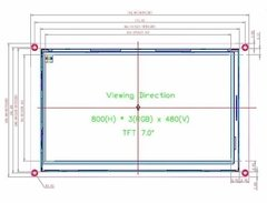 Display Nextion Ihm Led Touch 7.0 Arduino Pic Clp (4007) - comprar online