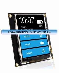 Display Nextion Ihm Led Touch 2.4 Arduino Pic Clp (4002) - loja online
