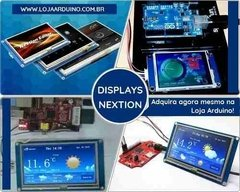 Imagem do Display Nextion Ihm Led Touch 4.3 Arduino Pic Clp (4005)