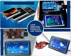 Imagem do Display Nextion Ihm Led Touch 7.0 Arduino Pic Clp (4007)