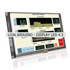 Display Nextion Ihm Led Touch 4.3 Arduino Pic Clp (4005) - LOJA ARDUINO