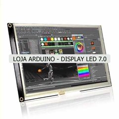 Display Nextion Ihm Led Touch 7.0 Arduino Pic Clp (4007) - LOJA ARDUINO