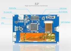 Display Nextion Ihm Led Touch 5.0 Arduino Pic Clp (4006) na internet