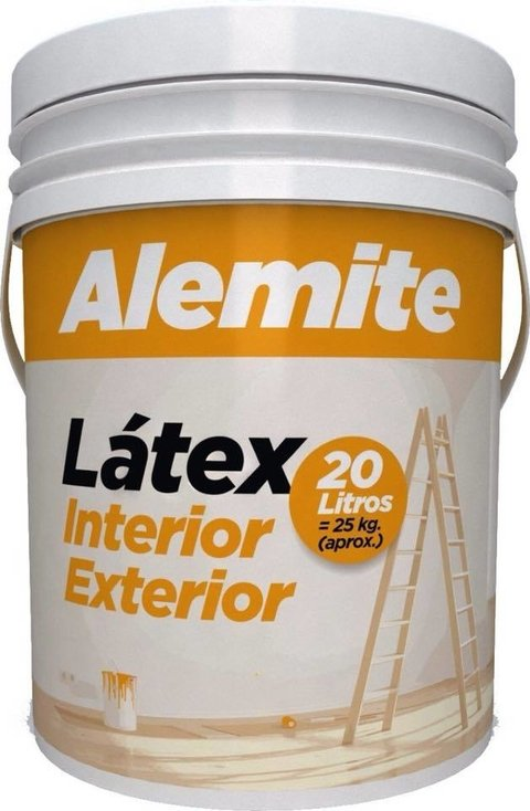 Latex Alemite - Interior/Exterior - 20L