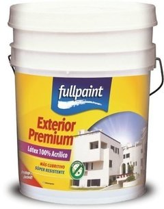 Latex exterior FullPaint 100% Acrilico